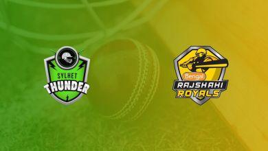 Sylhet Thunder Vs. Rajshahi Royals