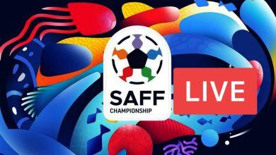 SAFF Championship Live