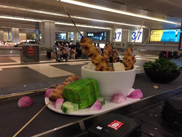シンガポール・チャンギ国際空港 ターンテーブル