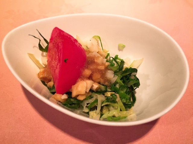 洋食の店 橋本 サラダ
