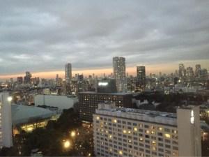 京急EXイン品川駅前 窓からの景色