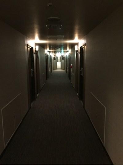 スーパーホテルLOHAS熊本天然温泉 廊下