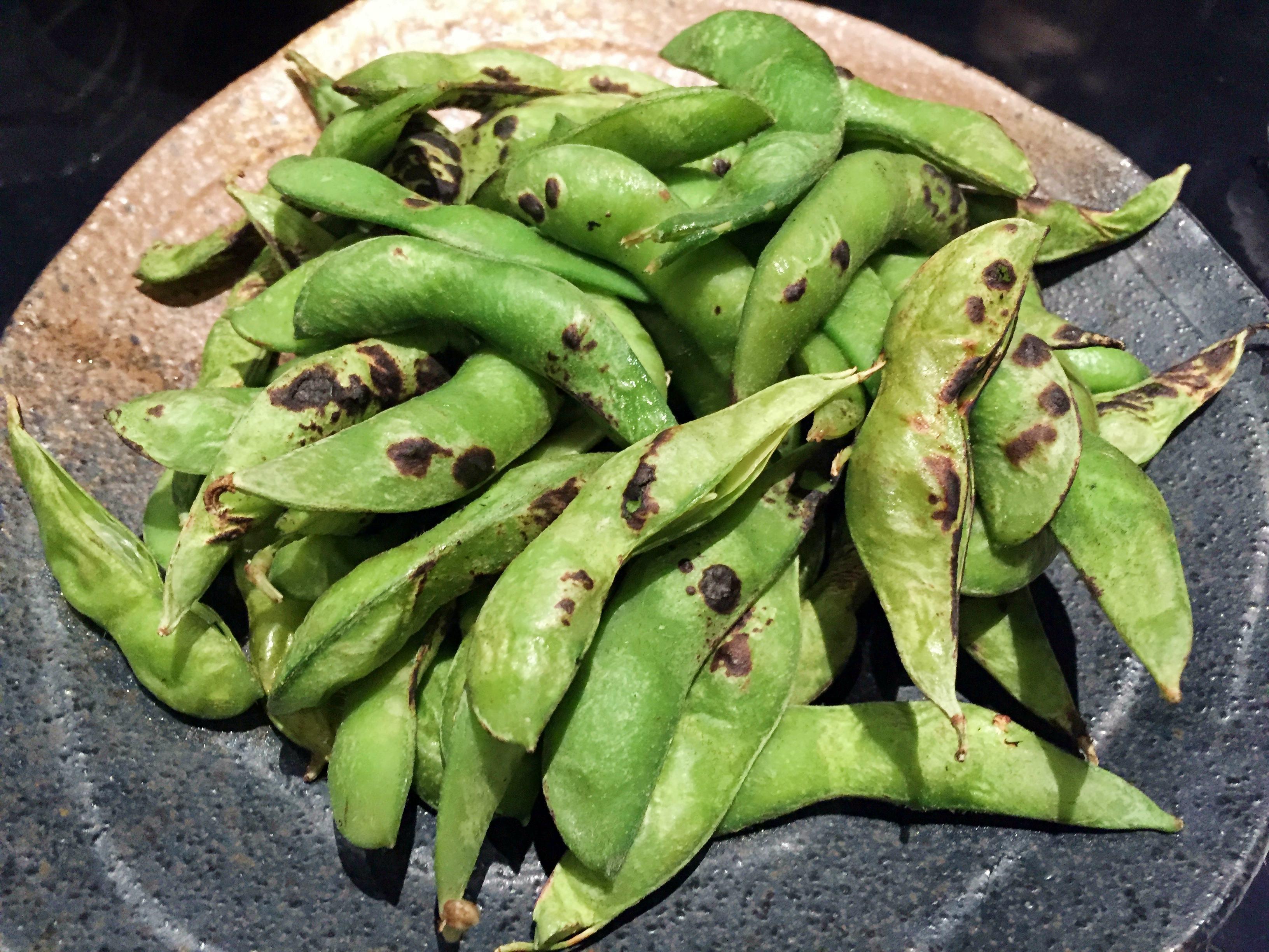 博多水炊き 大和の焼き枝豆