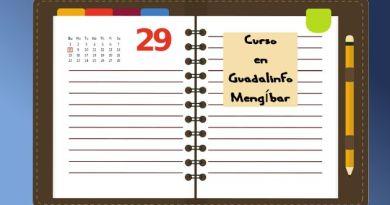 Agenda de actividades en Guadalinfo Mengíbar