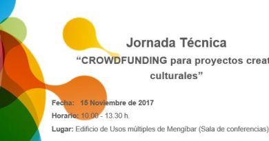 Crowdfunding en Mengíbar. Noviembre Cultural