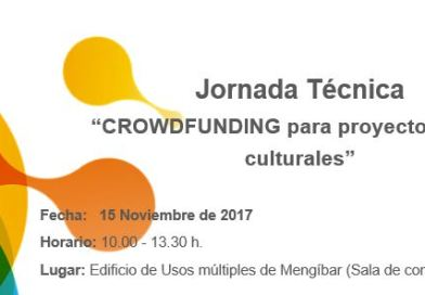 Jornada Técnica sobre CROWDFUNDING en Mengíbar