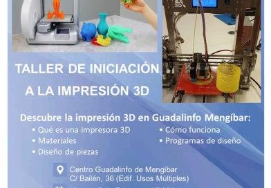 Impresión 3D. Taller de iniaciación