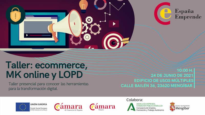 Taller formativo en Mengíbar sobre Comercio Electrónico, Marketing Online y LOPD