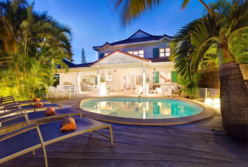 villa champagne dans les Îles de Guadeloupe