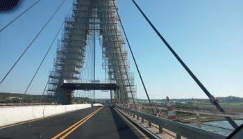 Ponte do Guadiana em Obras