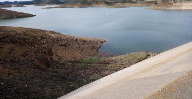 barragem de odleite na seca