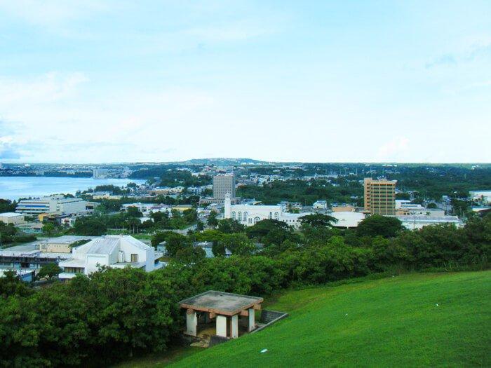 アプガン砦からの眺め