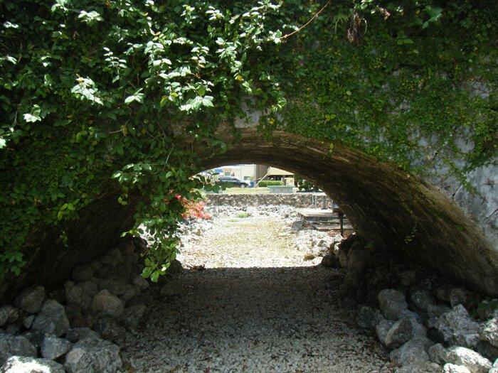 サンアントニオ橋のアーチ