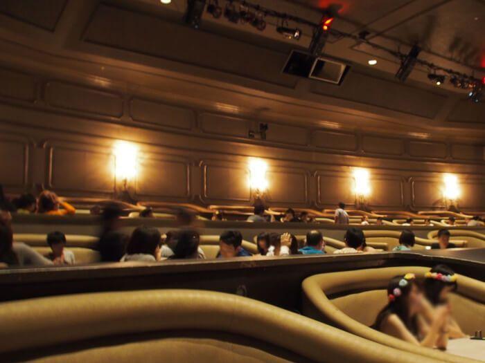 サンドキャッスル劇場内