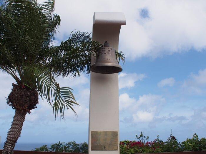 恋人岬三都市の鐘