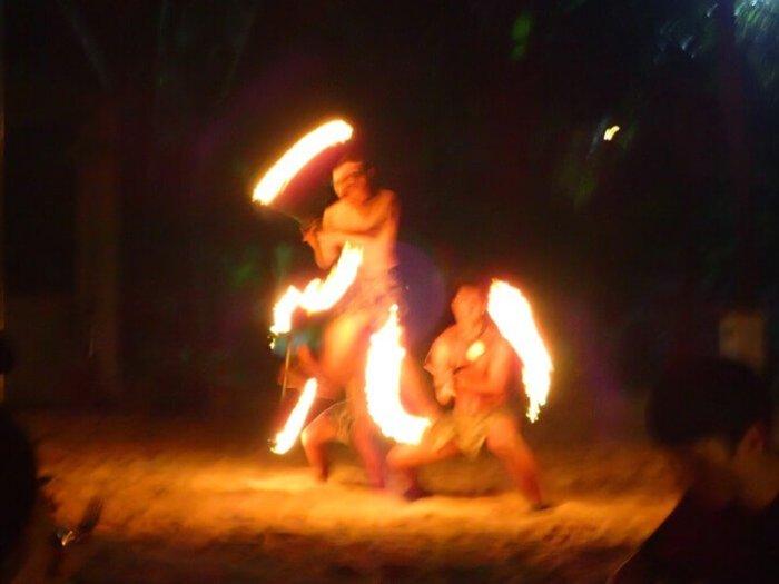 ニッコーグアムのBBQ・ダンスショー