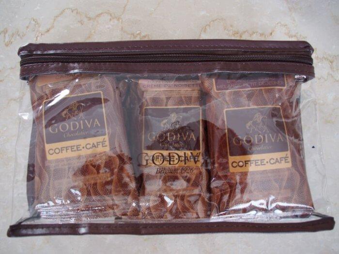 ゴディバのコーヒー