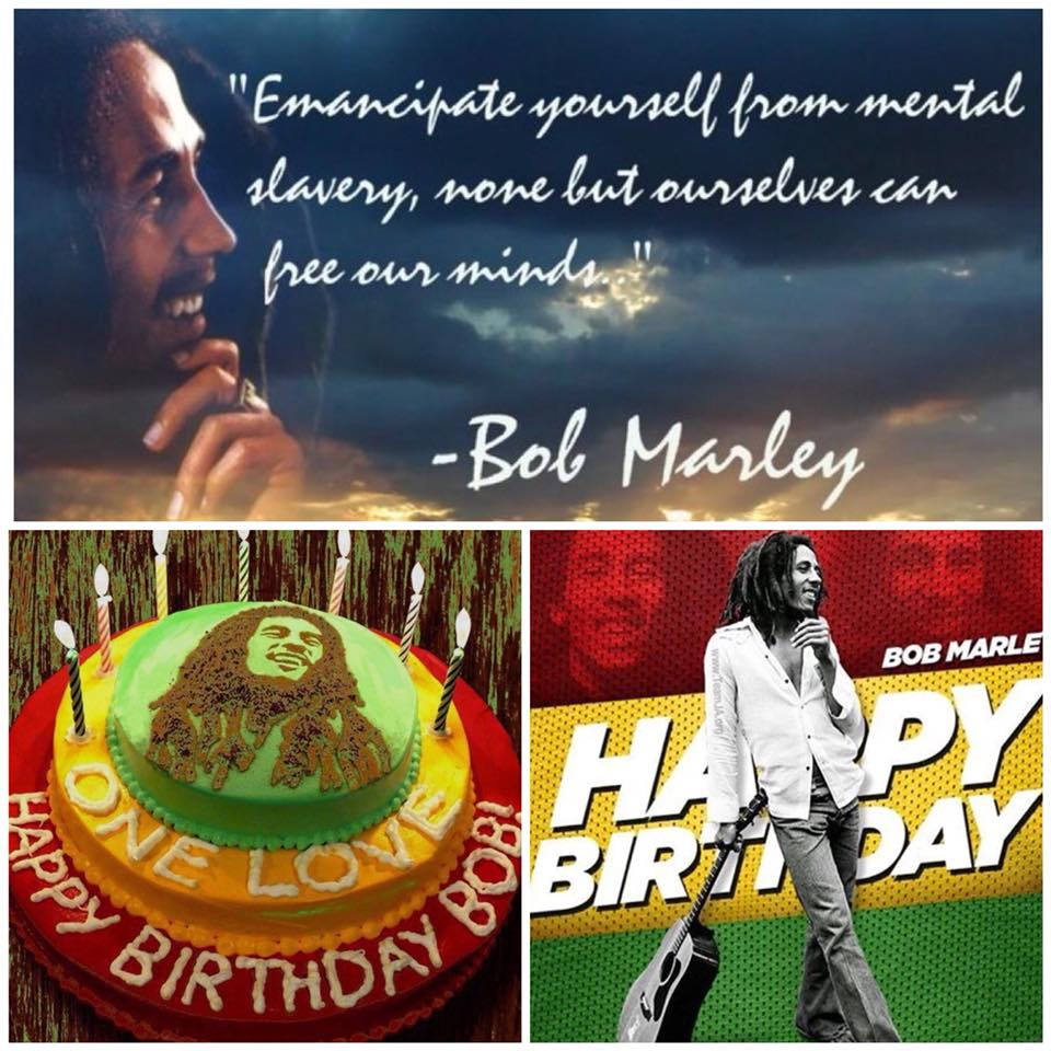 Sensational Happy Birthday Bob Marley The Shark Marianas Personalised Birthday Cards Veneteletsinfo
