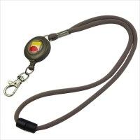 Breakaway lanyard with badge holder | Round breakaway lanyard