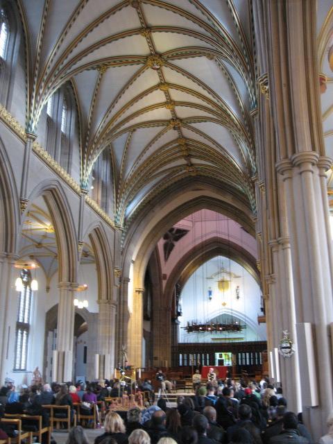 cageprisoners - blackburn cathedral