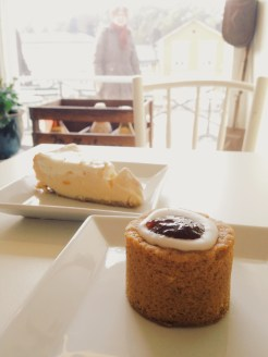 3. The Runebergintorttu is a Finnish pastry topped with raspberry jam and a sugar ring. It is said that Runeberg enjoyed a homemade torte – prepared by Runeberg's wife (her handwritten recipe is kept in his museum-home) – for breakfast every morning, with a glass of alcohol. The torte is only available in Finland between January and the fifth of February, Runeberg's birthday, but cafés in Porvoo serve them all year round.