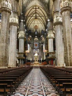 10. View of the interior of Il Duomo.
