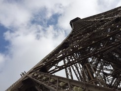 11. The Eiffel Tower, perhaps the most recognisable landmark in Paris. We made our first visit in the day to the 324-metre tall tower, and went all the way up first before visiting the other floors.
