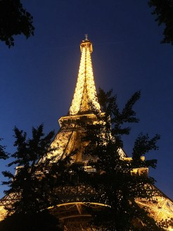 28. The Eiffel Tower in the night. At every hour-mark after sunset, the 20,000 lights sparkle for five minutes, making for a remarkable sight. Again, long summers mean longer days, and longer waits!