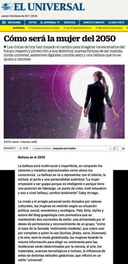 Guapologia en el Universal