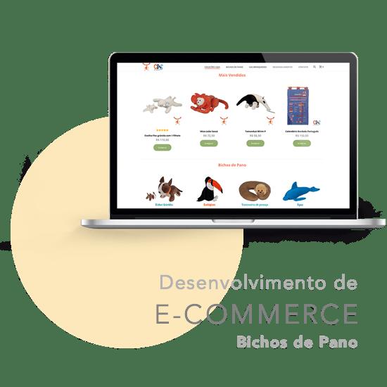 E-commerce Bichos de Pano