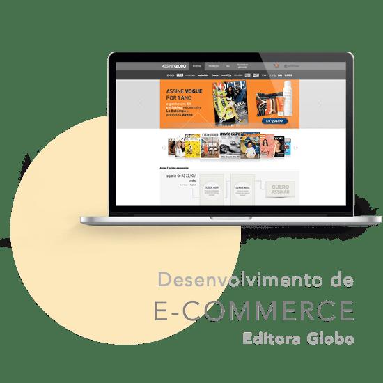 E-commerce Editora Globo