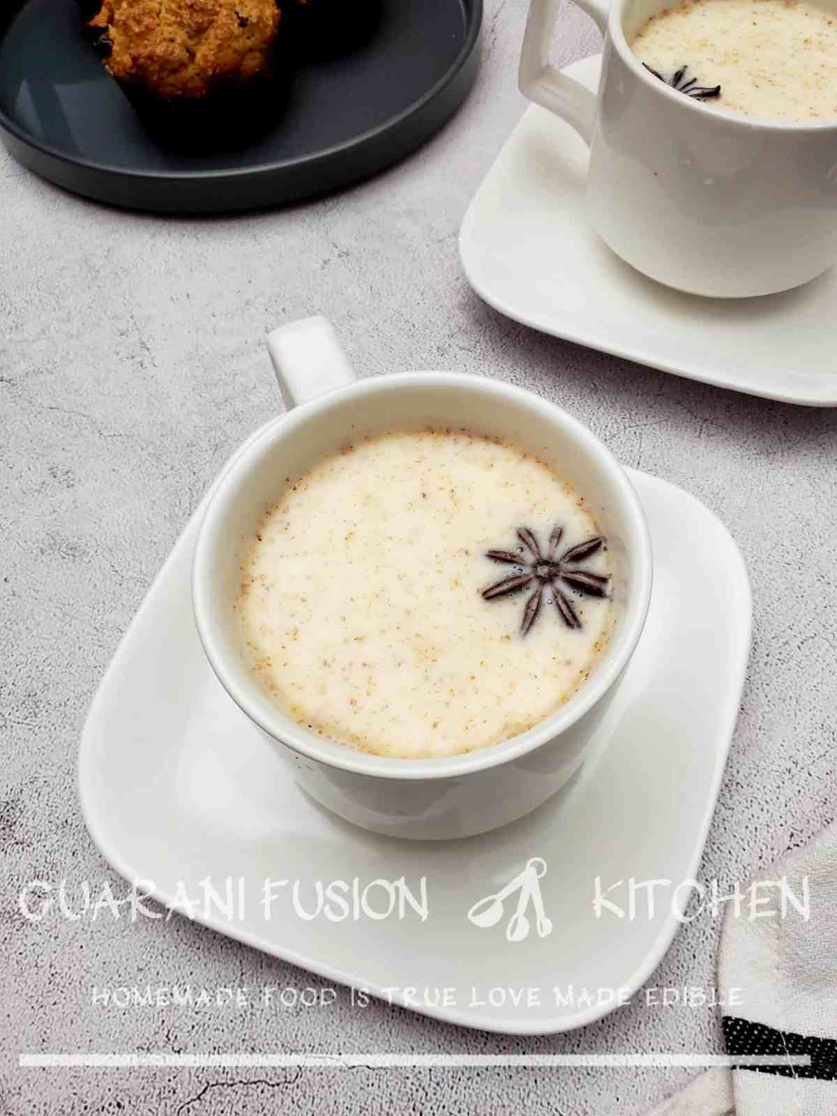 5-Minute Soothing White Hot Chocolate (Better Than Starbucks)