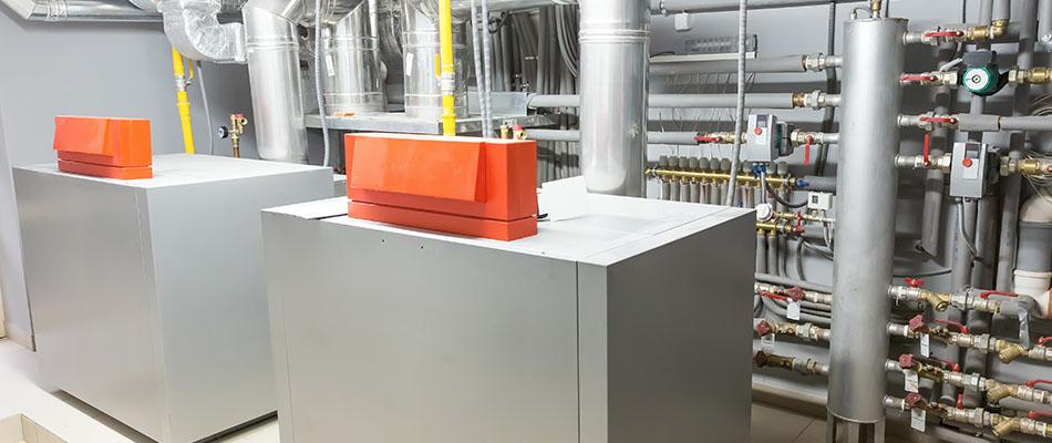 hot water heating boilers