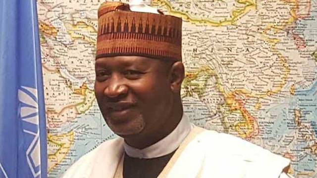 Image result for Minister of State for Aviation, Hadi Sirika