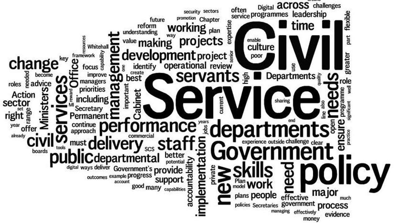 Enthroning efficiency in the civil service