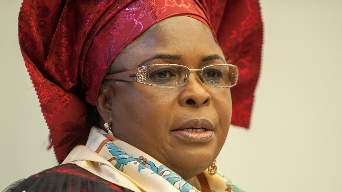Patience jonathan - Court freezes N350 million linked to Patience Jonathan