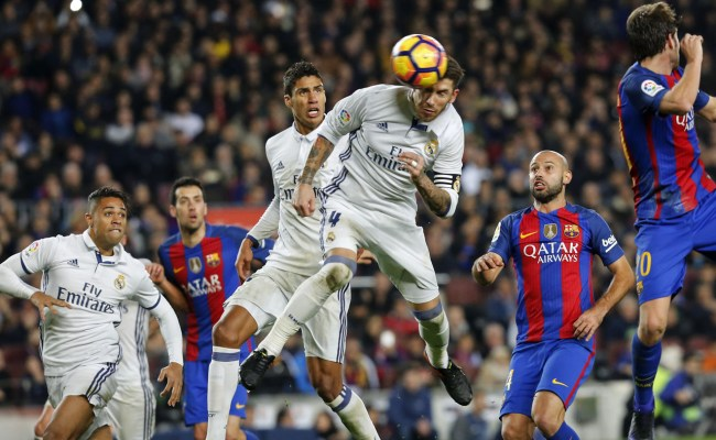 Barca Real Madrid Set For El Clasico The Guardian