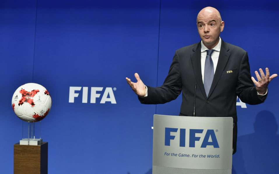 Infantino 957x598 - Infantino accused of interference by ousted expert