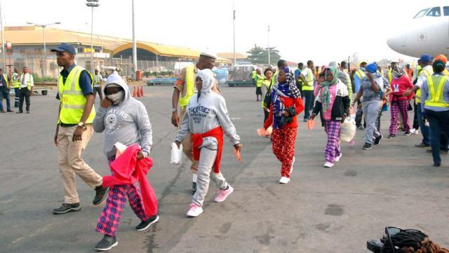 Image result for libya returnees shared by medianet.info