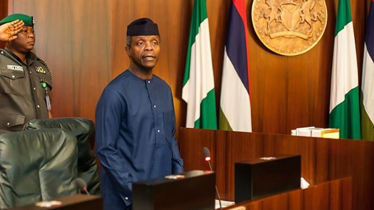 Osinbajo 1 - Osinbajo tasks D-8 countries on peace, justice for better promotion of trade