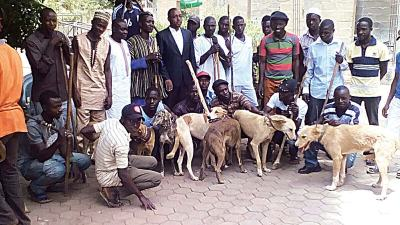 Image result for Hunters in kaduna