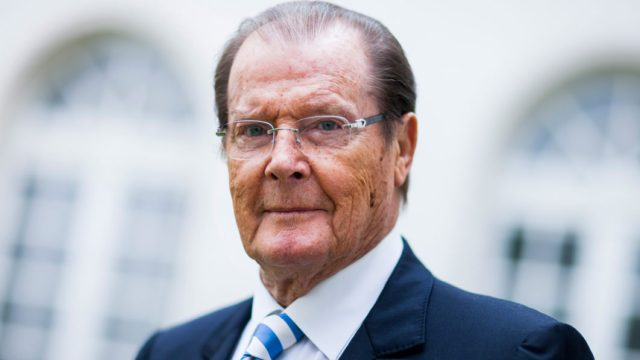 Image result for UNICEF mourns Popular actor, Roger Moore