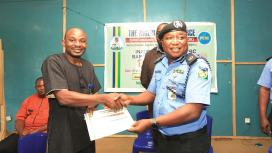 Image result for Ogun Police Command inaugurates CRC in tertiary institutions