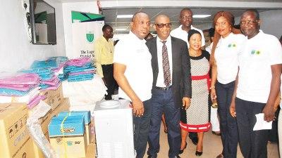 ICAN donates medical equipment to Lagos Island Maternity ...