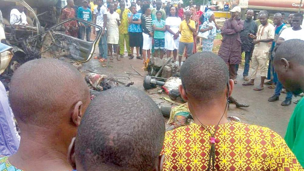 Image result for ife tanker accident on sunday