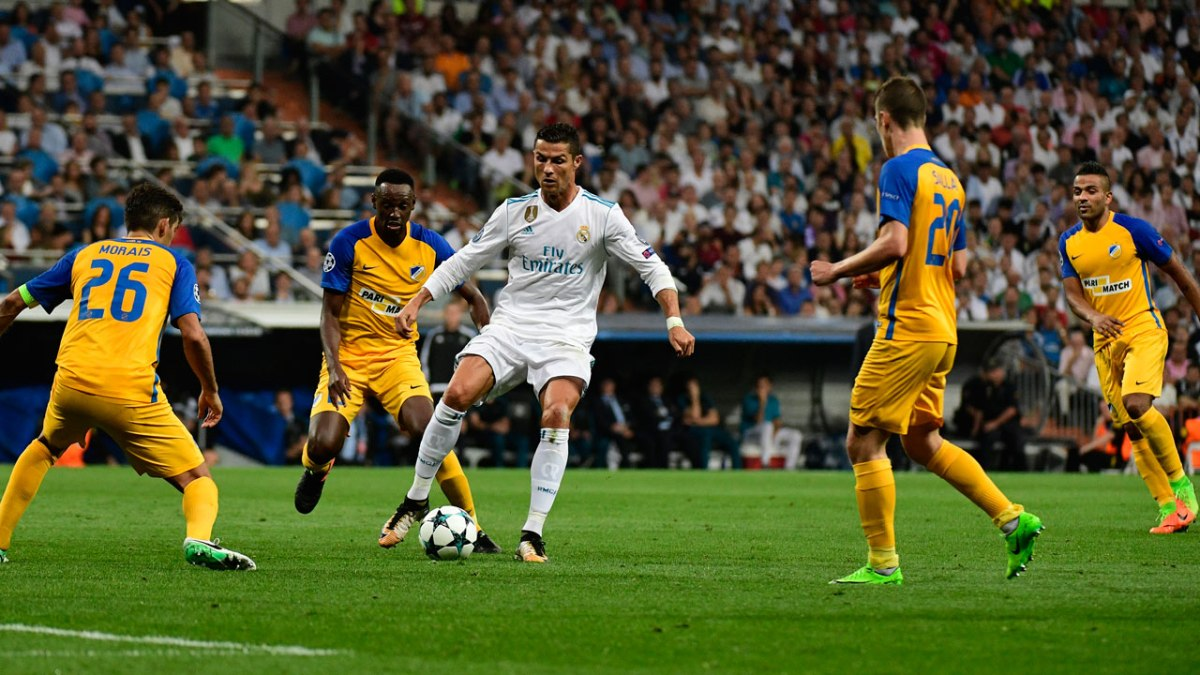 000 SE4WT - Ronaldo returns to lead routine Real win