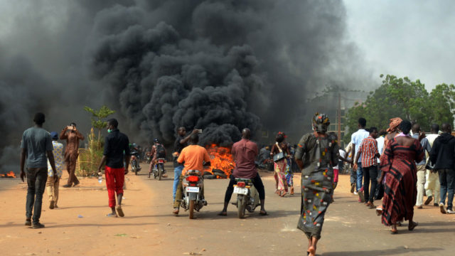 Clashes erupt at Niger protest over financial reforms  The Guardian Nigeria News  Nigeria and