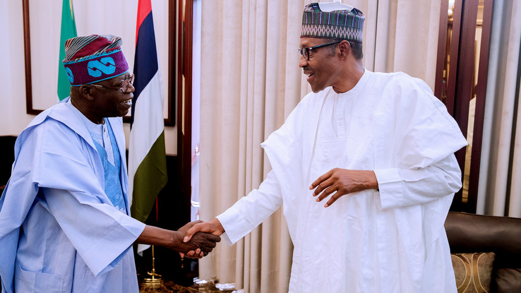 Image result for Buhari summons Tinubu to Aso Rock over rift with Ambode