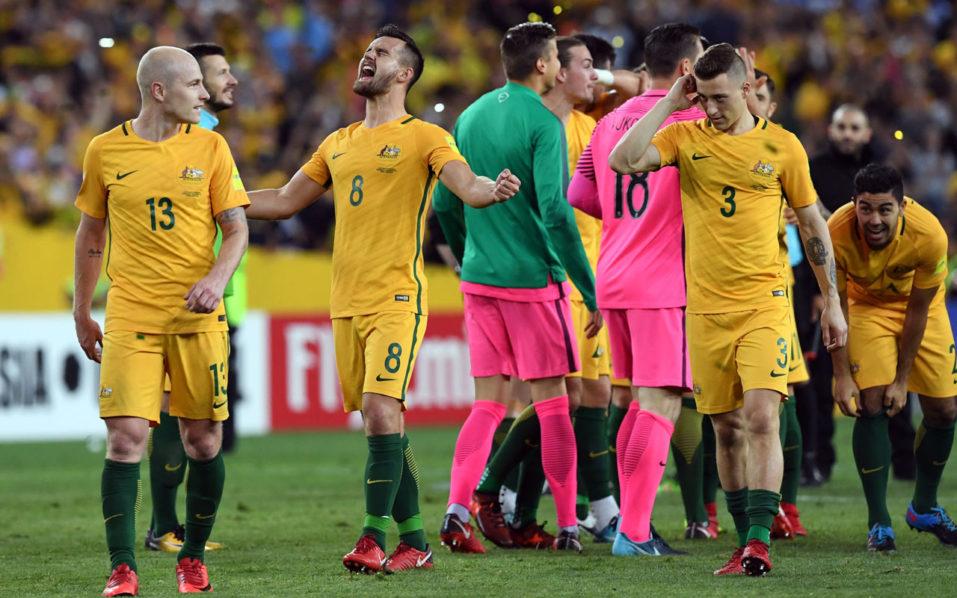 Australia 957x598 - Hat-trick hero Jedinak fires Australia into World Cup