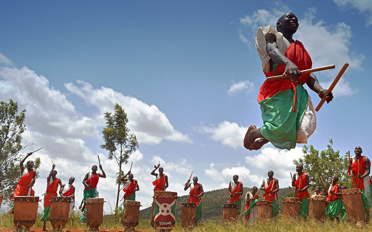 Burundi bans women from playing traditional drums  The